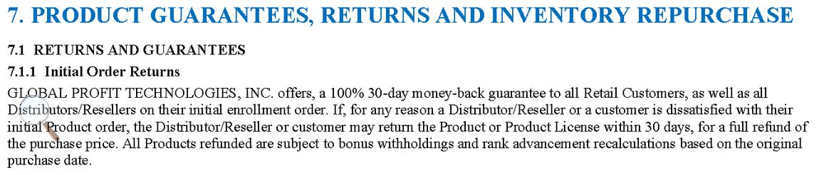 4X-DAT 30 day 100% Money Back Guarantee